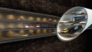 Büyük İstanbul Tüneli'nin güzergahı belli oluyor
