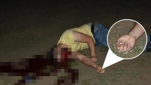 Kızına kötü davranan damadını öldürdü