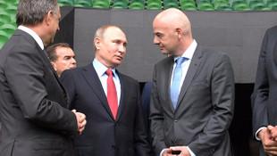 Türklerin yaptığı stad Putin'i hayran bıraktı