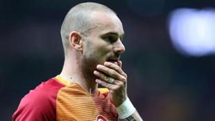 Wesley Sneijder'den erken veda !