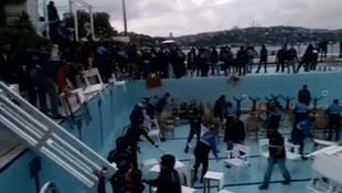 Galatasaray Adası yıkılıyor !