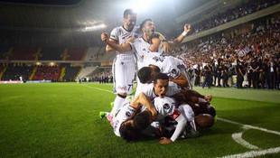 Gaziantespor 0 - 4 Beşiktaş / Maç sona erdi