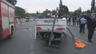 İstanbul'da feci kaza: 1 ölü,1 yaralı