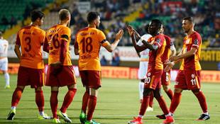 Alanyaspor 0 - 2 Galatasaray / Maç devam ediyor