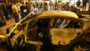 Dondurmacıya bomba yüklü araçla saldırı