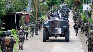 Filipinler'de terör örgütü adım adım siliniyor !