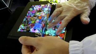 Samsung esnek ekran için yeni video paylaşıldı