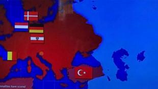 Barcelona'dan skandal Türkiye haritası
