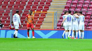 Galatasaray-Kasımpaşa: 1-3