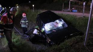 Su kanalına düşen otomobilin sürücüsü öldü