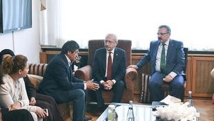 Kılıçdaroğlu'ndan şehit Tümgeneral Aydın'ın ailesine taziye ziyareti