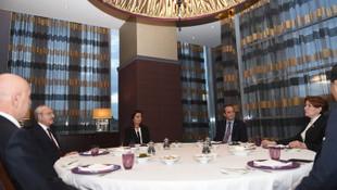 Kılıçdaroğlu ile Akşener iftarda buluştu
