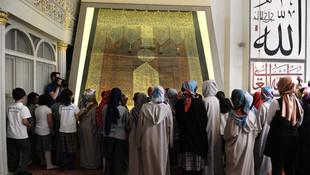 Ulu Camii'ye ziyaretçi akını