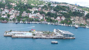 Galatasaray Adası için cami önerisi