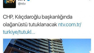 NTV'nin gafı olay oldu !