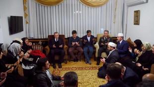 Erdoğan ve Hulusi Akar'dan taziye ziyareti