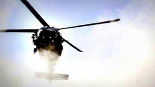 Askeri helikopter düştü: Ölüler var
