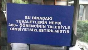 ODTÜ'den ''cinsiyetsiz tuvalet'' açıklaması