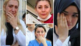 Bitlis şehidi hastaneden gözyaşlarıyla uğurlandı