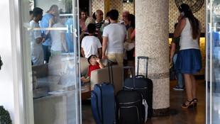 Tatilleri zehir oldu: 50 aile kapıda kaldı
