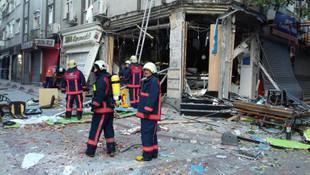 İstanbul'da korkutan patlama; ortalık savaş alanına döndü