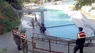 Havuz faciasında şoke eden ayrıntı