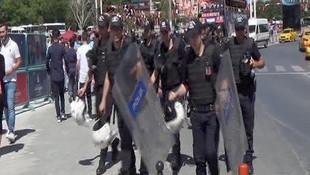 Taksimde Onur Yürüyüşü önlemleri