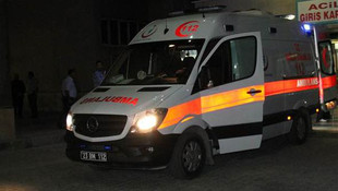 ''Yaralı'' diye ambulansa verip kaçtılar