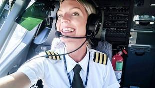 Dünya bu kadın pilotu konuşuyor