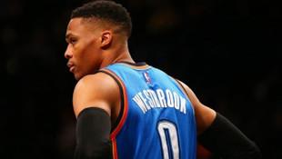 NBA'de yılın MVP'si Russell Westbrook