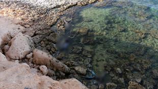 Akdeniz sahilinden kan donduran fotoğraflar