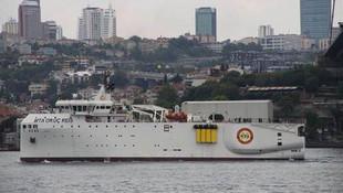 Türkiye için tarihi gün: MTA Oruç Reis yola çıktı