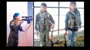 Terör örgütü bunu da yapmış: Çocuk sniper !