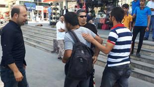Sırt çantası koca şehri ayağa kaldırdı