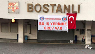 İzmir'de grev ! Hayat resmen durdu...