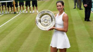 Wimbledon'da Muguruza şampiyon oldu !