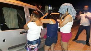 Fuhuş operasyonunda şoke eden gerçek ! 7 kadın hamile çıktı