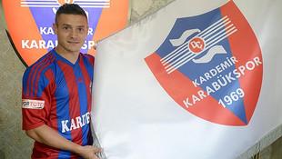 Karabükspor Torje'yi kadrosuna kattı