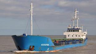 Türk gemisi İngiltere'de tutuklandı