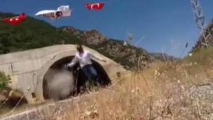 PKK'lı teröristler TIR şoförüne böyle ateş açtı !