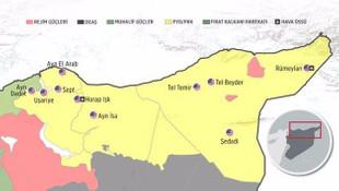 O Suriye haritasına ABD'den jet açıklama