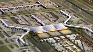 Bakan açıkladı ! 3. Havalimanı'na ilk uçak...