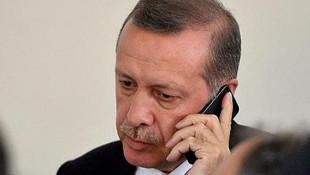 Erdoğan'dan Mescid-i Aksa telefonu