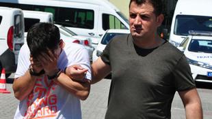 Kız çocuğunu kaçırmak isterken yakalandı