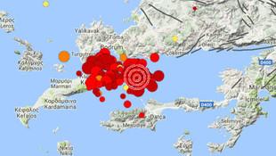 Kandilli açıkladı: Depremin büyüklüğü 6.6, hissedilen 7.0