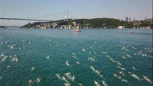 Boğaz'da 2 bin 338 yüzücü !