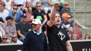 Tenis maçında Nazi sloganı !