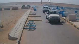 ABD askerlerine saldırı anı kamerada