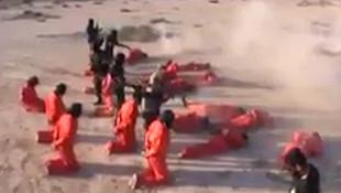 IŞİD'liler böyle kurşuna dizildi !