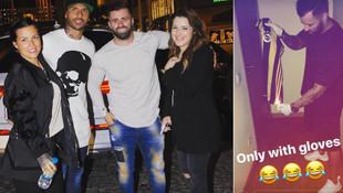 Quaresma'nın arkadaşı Fenerbahçe forması yaktı